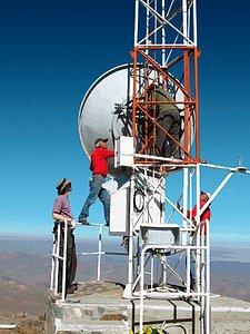 La Silla radio antenna
