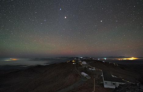 La Silla at Night