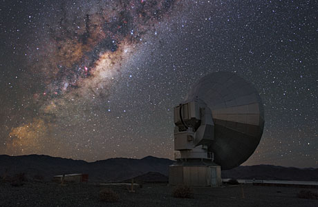 The Milky Way over SEST
