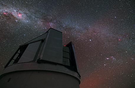 VISTA observing the sky