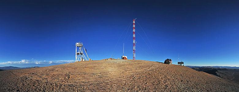 On Cerro Armazones