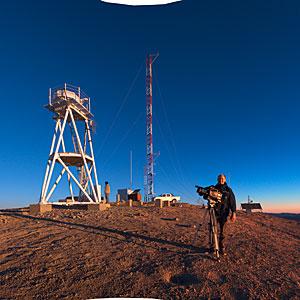 Filming at Cerro Armazones