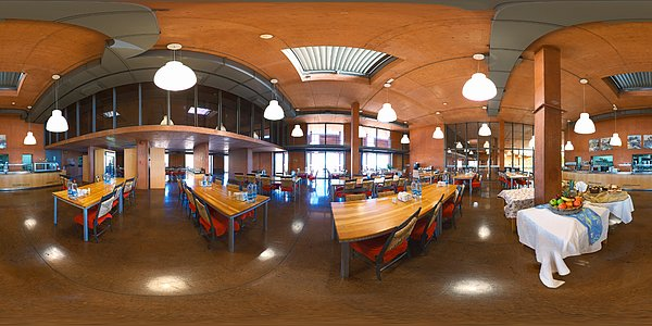 Panorama at la Cafeteria