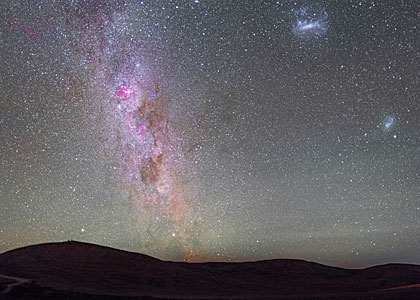 The Milky Way and Magellanic Clouds