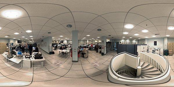 Panorama of Paranal Control Room