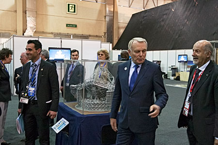 ESO's exhibition during CELAC-EU summit, 2013