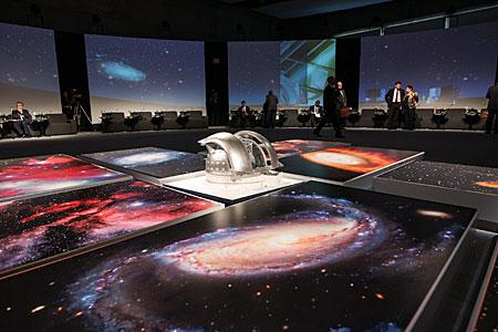 E-ELT model at CELAC-EU summit, 2013