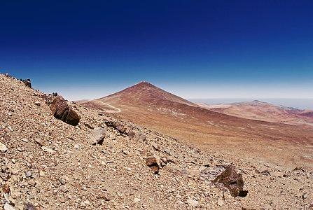 Cerro Paranal in 1987