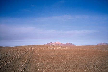 View of Chajnantor plateau