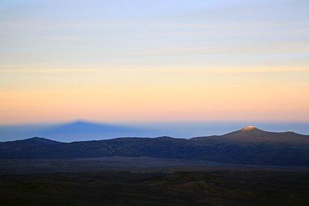 Shadow of Cerro Paranal