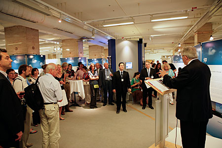 Bill Stirling at EIROforum reception