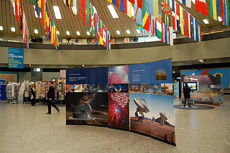 ESO information stand at UN offices, Vienna