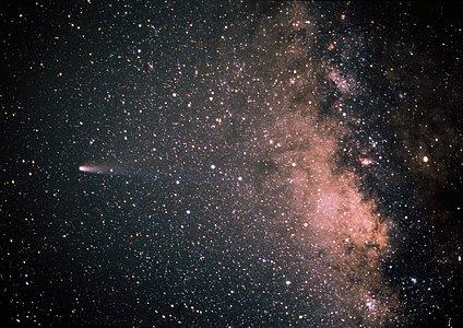 Comet Halley in 1986