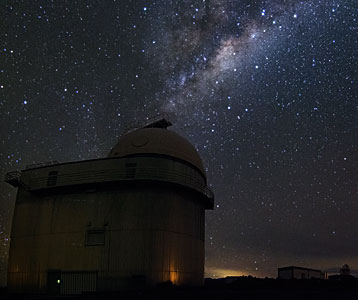 Milky Way over La Silla