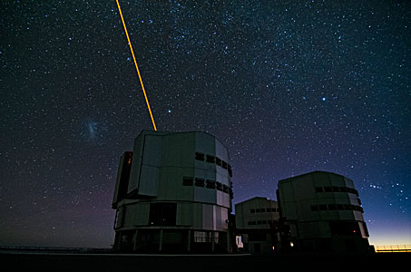 The Laser Guide Star on the VLT