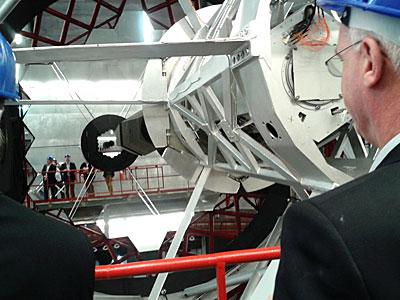 ESO Director General visits Teide Observatory (Tenerife)