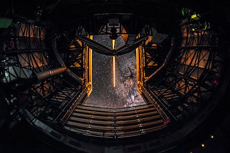Laser Guide Star at the VLT