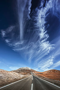 Clouds over Cerro Paranal