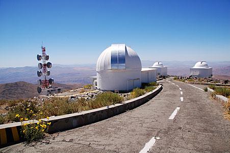 Smaller telescopes at La Silla Observatory