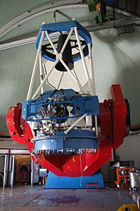 The MPG/ESO 2.2-metre telescope at La Silla