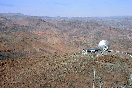 SEST atop La Silla
