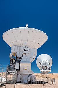 A pair of antennas