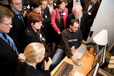 Finnish Visit to ESO 2006