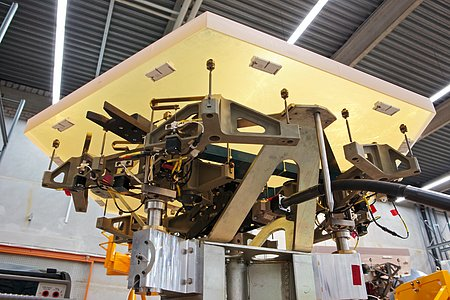 E-ELT mirror segments being tested