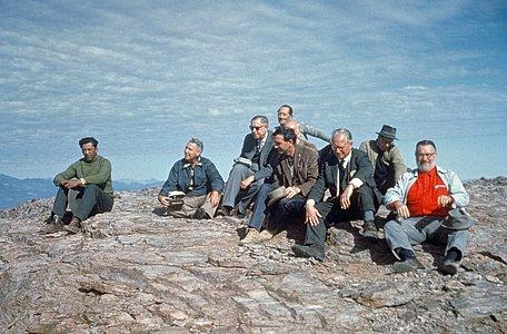 Summit meeting in Cerro Morado