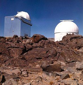Telescopes at La Silla