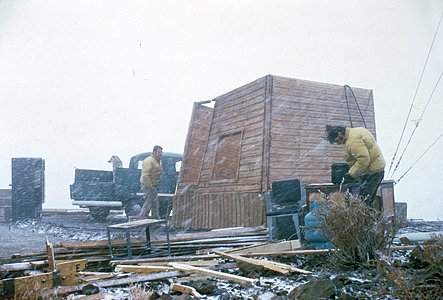 Harsh conditions at La Silla