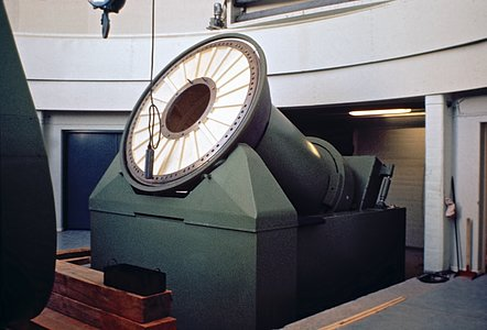 Mount of the ESO 1-metre Schmidt Telescope