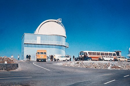 Visiting the ESO 1-metre Schmidt Telescope