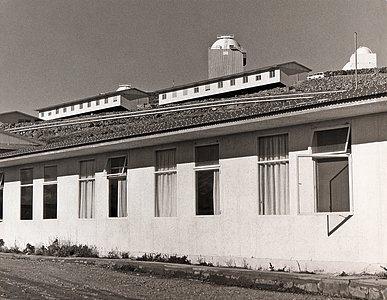 Dormitories at La Silla in the mid-1970s