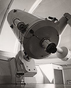 The ESO 1.52-metre telescope at La Silla