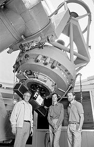 The Danish 1.54-metre telescope at La Silla