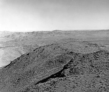 Flight over La Silla, 1964