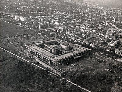 1968 aerial view of UN-CEPAL compound