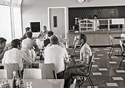 The La Silla Hotel in 1969