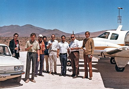 Inauguration of the Pelicano Airstrip