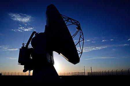 APEX antenna at Chajnantor