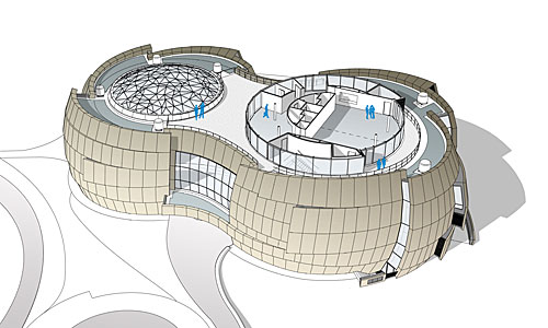 ESO Supernova third floor