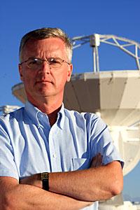 Prof. Tim de Zeeuw visiting ALMA