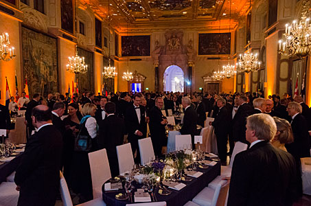 Just before the dinner at the ESO 50th Anniversary Gala Event