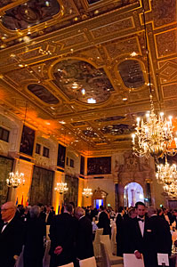 The ceiling of the Kaisersaal