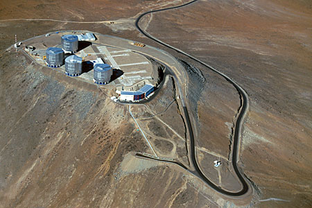 Paranal from on High