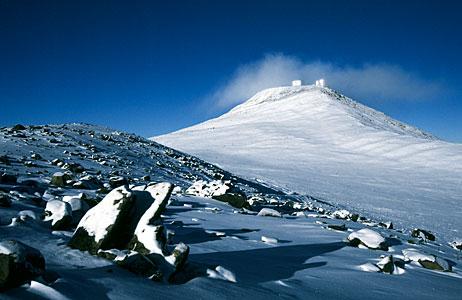 Paranal under snow