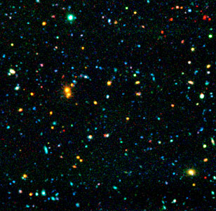 "Distant Galaxies in ""AXAF Deep Field"""