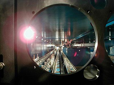 VLTI Delay Lines in the Interferometric Tunnel