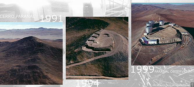 Paranal: From Mountain Top to Top Observatory
